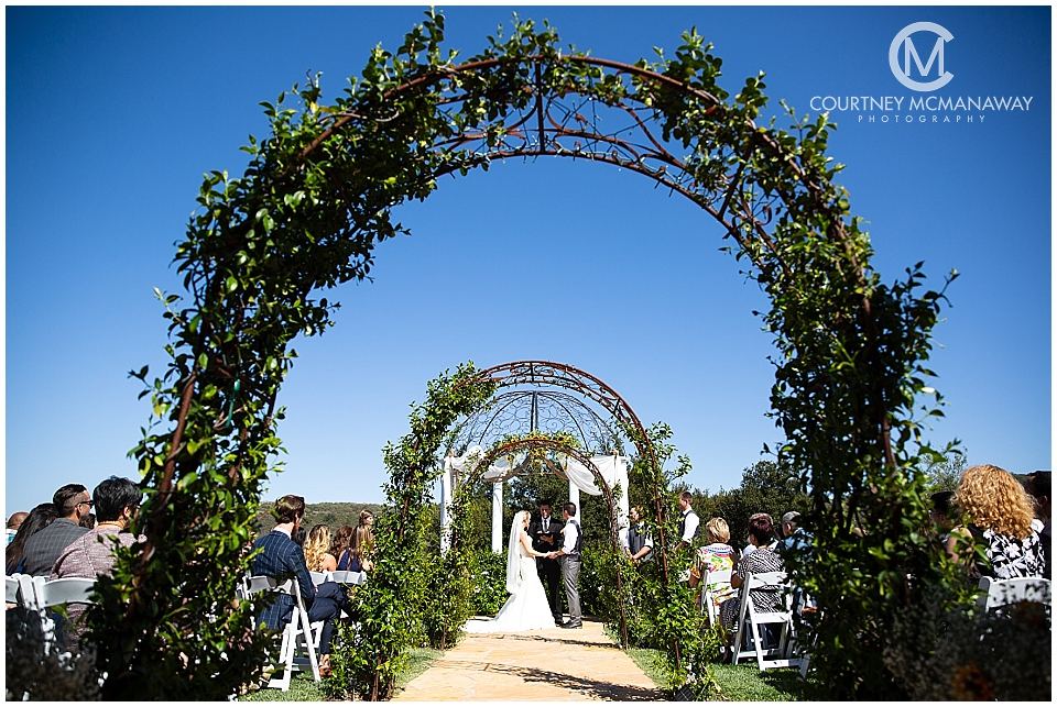 Forever and Always Farm wedding ceremony