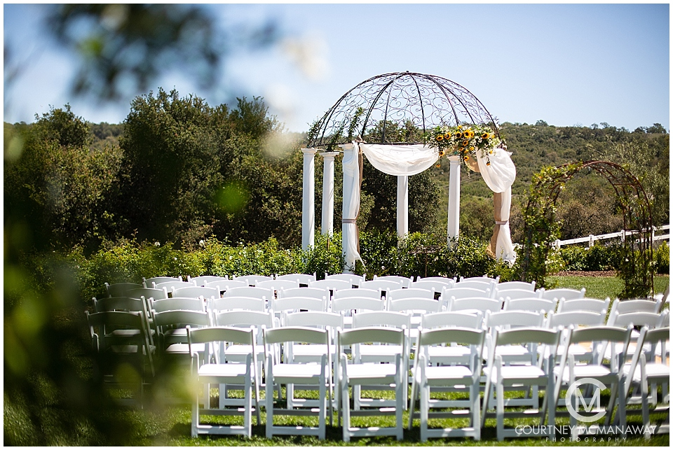 Forever and Always Farm wedding ceremony site